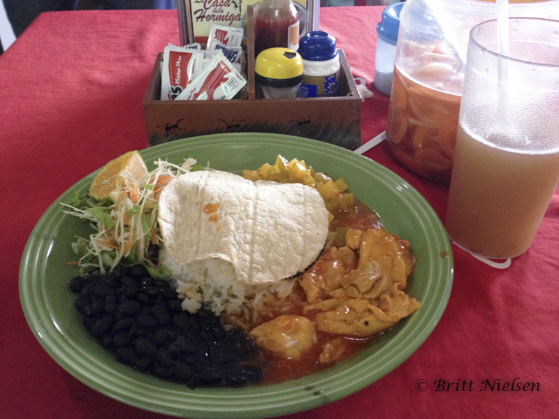 Typical Costa Rican Dish: Casado