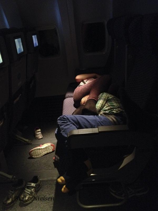 Airplane Pretzel Snooze