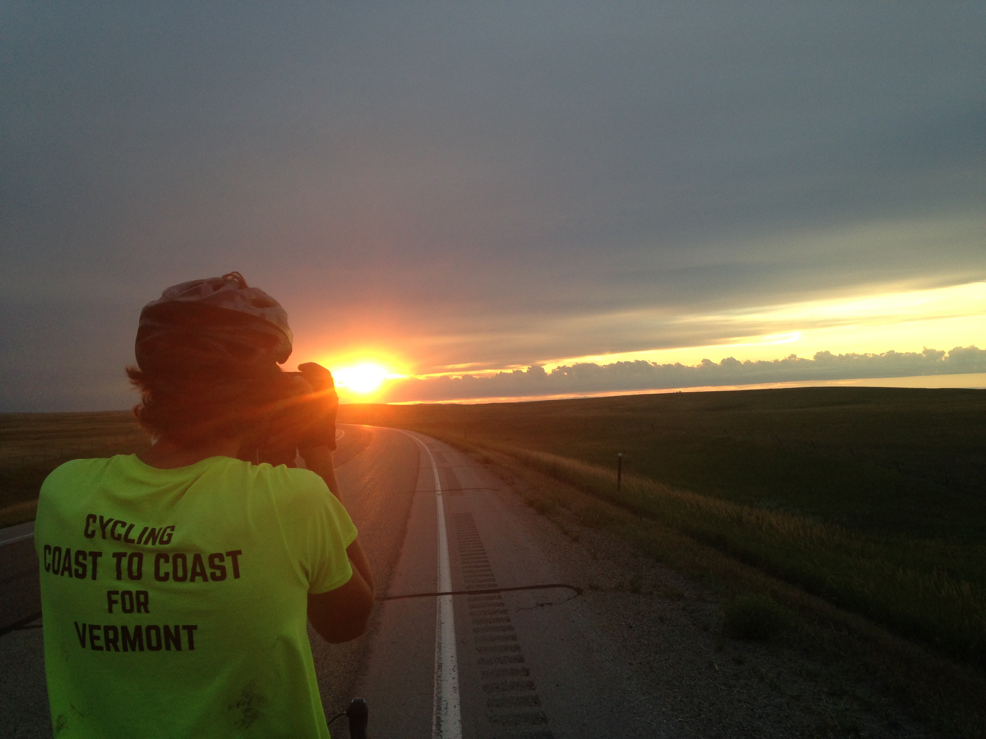 Cycling coast to coast image ©Clara Slesar